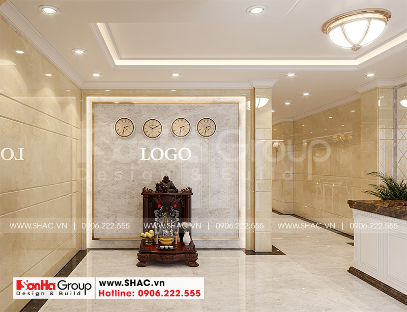 Thiết kế cải tạo khách sạn tân cổ điển 3 sao 6x23,4m tại Sài Gòn – SH KS 0087 4