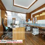 4 Trang trí nội thất phòng làm việc chuyên nghiệp tại sài gòn sh nod 0222