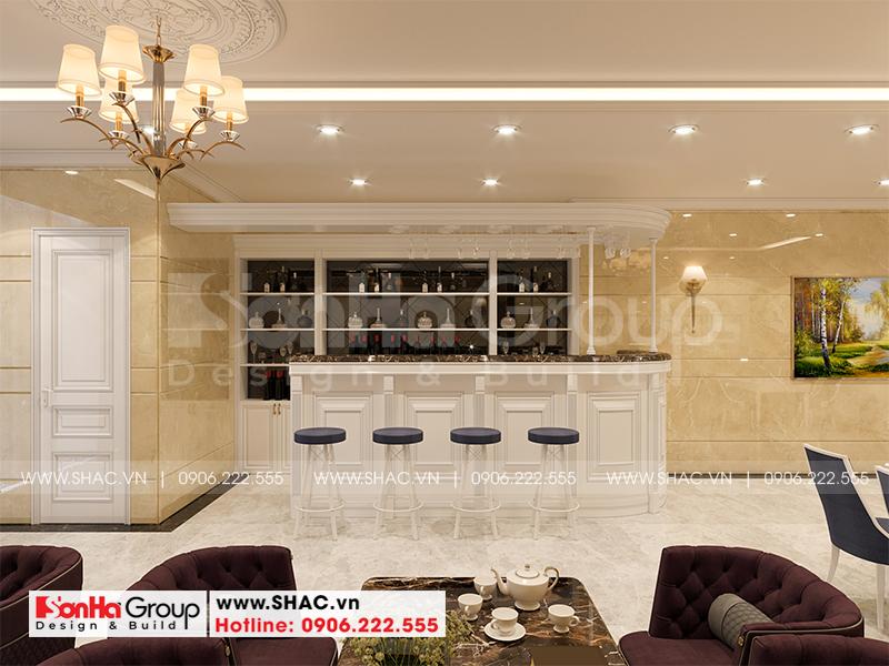 Thiết kế cải tạo khách sạn tân cổ điển 3 sao 6x23,4m tại Sài Gòn – SH KS 0087 9