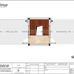 9 Mặt bằng tầng tum nhà ống hiện đại đẹp tại hải phòng sh nod 0223