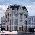 1 Thiết kế biệt thự tân cổ điển đẹp tại hà nội sh btp 0156