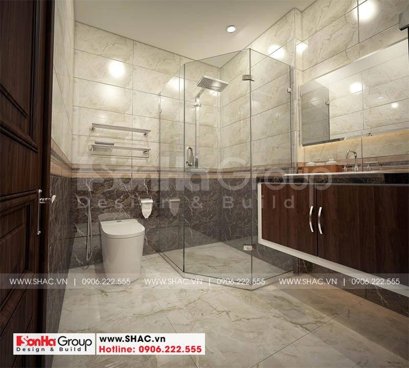Thiết kế nội thất phòng tắm và vệ sinh với mẫu gạch ốp lát mới nhất