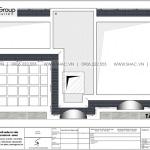 20 Bản vẽ tầng mái nhà ống tân cổ điển có gara ô tô tại quảng ninh sh nop 0211