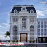 3 Kiến trúc biệt thự tân cổ điển kết hợp kinh doanh tại hà nội sh btp 0156
