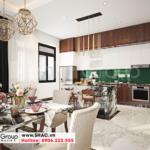 6 Trang trí nội thất phòng bếp sang trọng tại quảng ninh sh nop 0211
