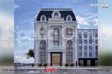 BÌA thiết kế biệt thự tân cổ điển 3 tầng 2 mặt tiền tại hà nội sh btp 0156