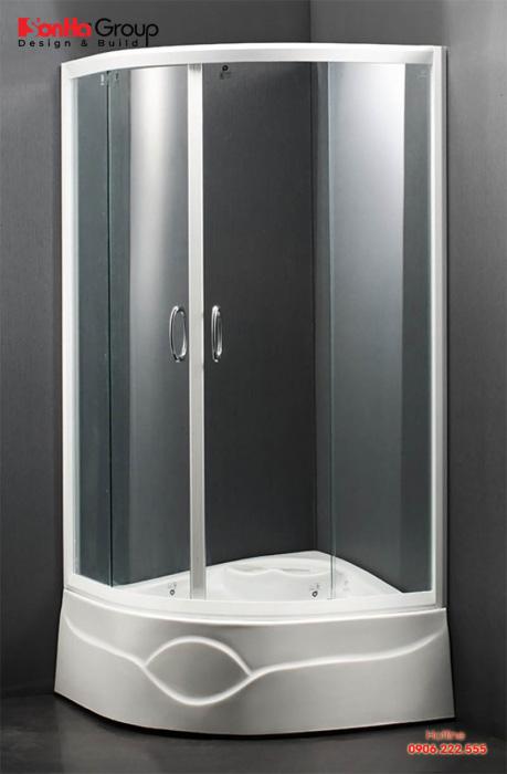 Bồn tắm đứng với thiết kế sang trọng nâng tầng không gian sống