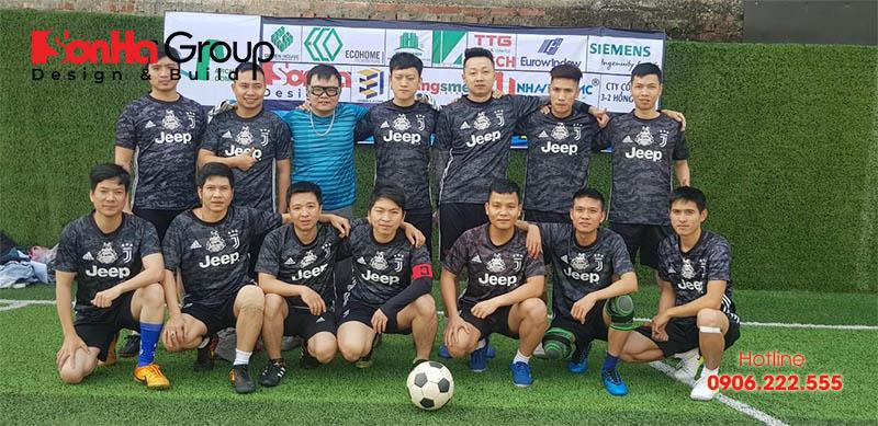 Đội hình thi đấu của Sơn Hà Group tham gia giải