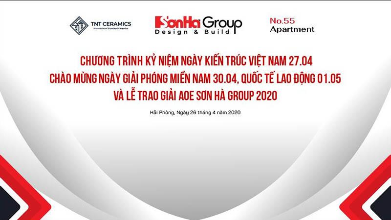 Giải AOE Sơn Hà Group 2020 chào mừng ngày kiến trúc sư Việt Nam