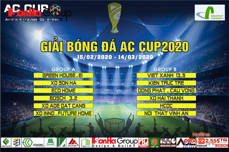 Sơn Hà FC sáng giá mùa giải bóng đá Ac Cup KTS trẻ Hải Phòng 2020