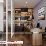 11 Thiết kế khu làm việc phòng ngủ master tại sài gòn