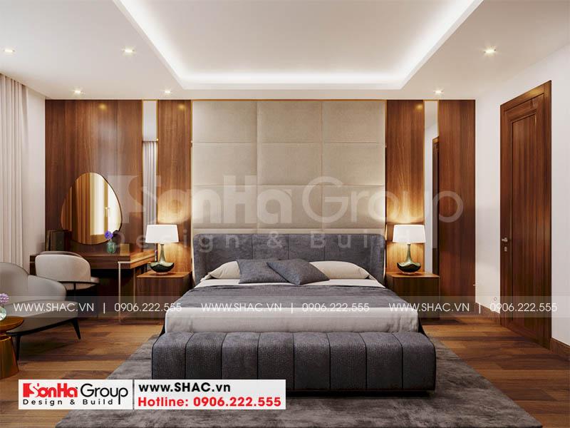 Trang trí nội thất phòng ngủ master đẳng cấp đón đầu xu hướng