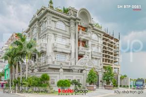 BÌA Biệt thự tân cổ điển 4 tầng hàng chục tỷ tại Sài Gòn SH BTP 0081