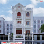 2 Mẫu biệt thự tân cổ điển 3 tầng tại Sài Gòn sh btp 0159