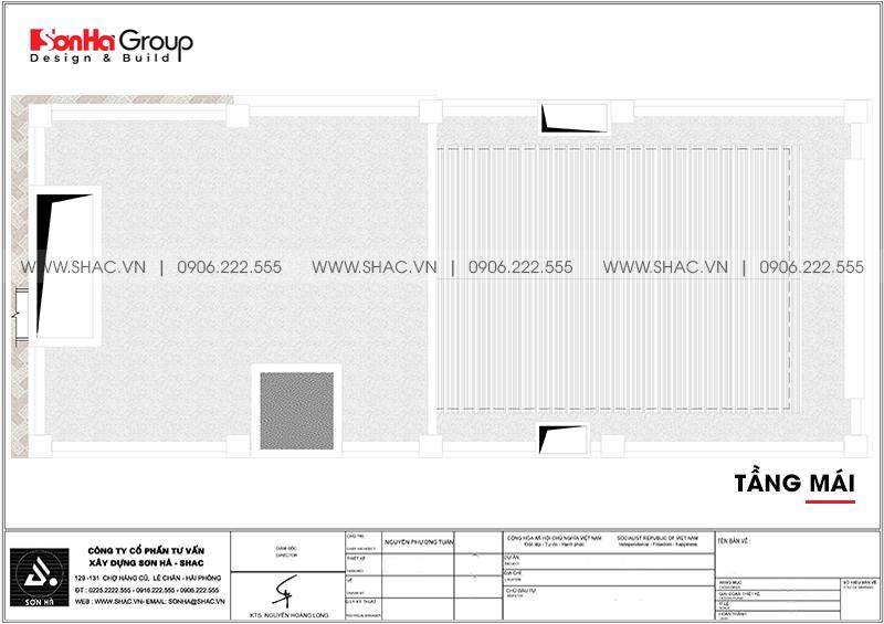 Mẫu khách sạn tân cổ điển tiêu chuẩn 3 sao tối ưu công năng tại Hải Phòng – SH KS 0088 8