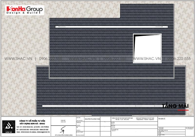 Đổ gục trước thiết kế biệt thự 2 tầng hiện đại 18,3x10,3m tại Ninh Bình – SH BTD 0081 10