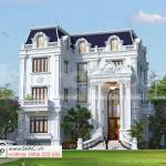 1 Thiết kế biệt thự tân cổ điển đẹp tại hà nội n sh btp 0162