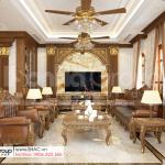 1 Thiết kế nội thất phòng khách tạị hà nội sh btp 0160