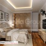 10 sống chất cùng phong cách hiện đại trong nội thất phòng ngủ biệt thự tân cổ điển tại Sài Gòn SH BTP 0161