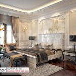 10 Thiết kế nội thất phòng ngủ 1 vip đẹp tại hà nội sh btp 0160