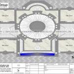 11 Bản vẽ tầng mái biệt thự lâu đài hiện đại tại hải dương sh btld 0047