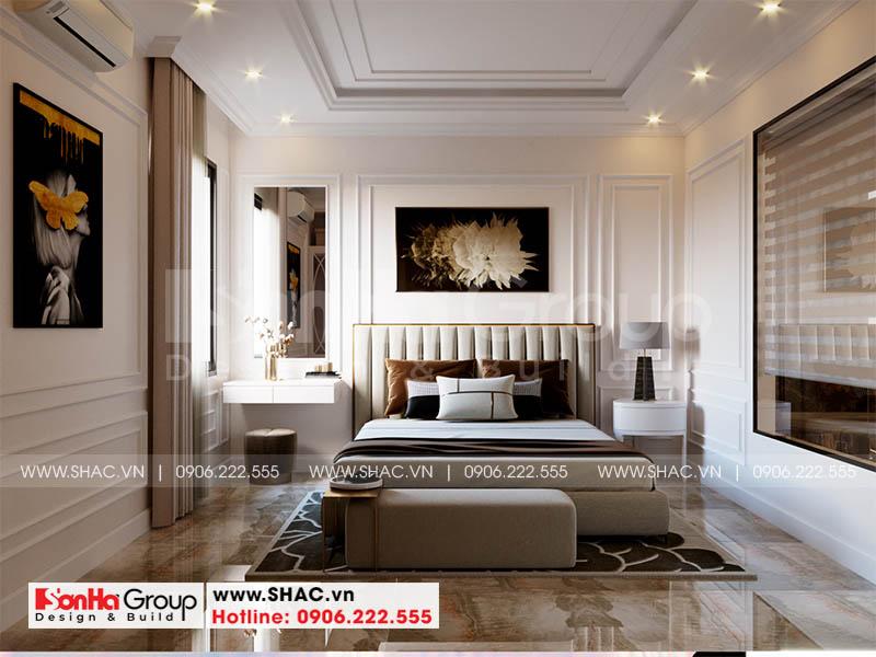 Mẫu thiết kế nội thất phòng ngủ ấn tượng nhờ đưởng nét tinh tế