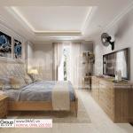 15 không gian bừng sáng cùng phong cách tân cổ điển đẹp tinh tế trong biệt thự SH BTP 0161