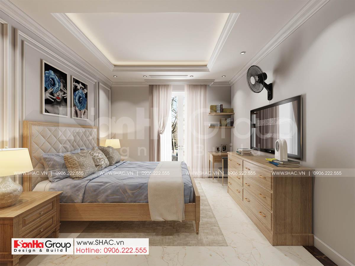 Không gian bừng sáng cùng phong cách tân cổ điển đẹp tinh tế trong biệt thự