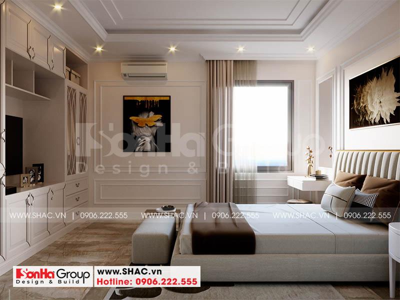 Trang trí nội thất phòng ngủ phong cách tân cổ điển ấm cúng đẹp mắt