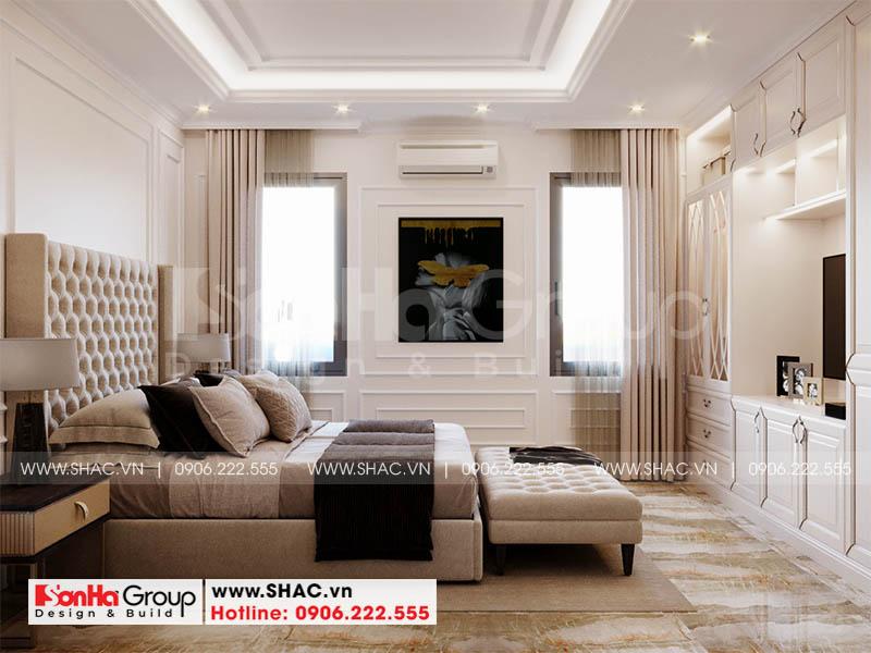 Thiết kế thi công nội thất phòng ngủ cần đảm bảo những tiêu chí nhất định