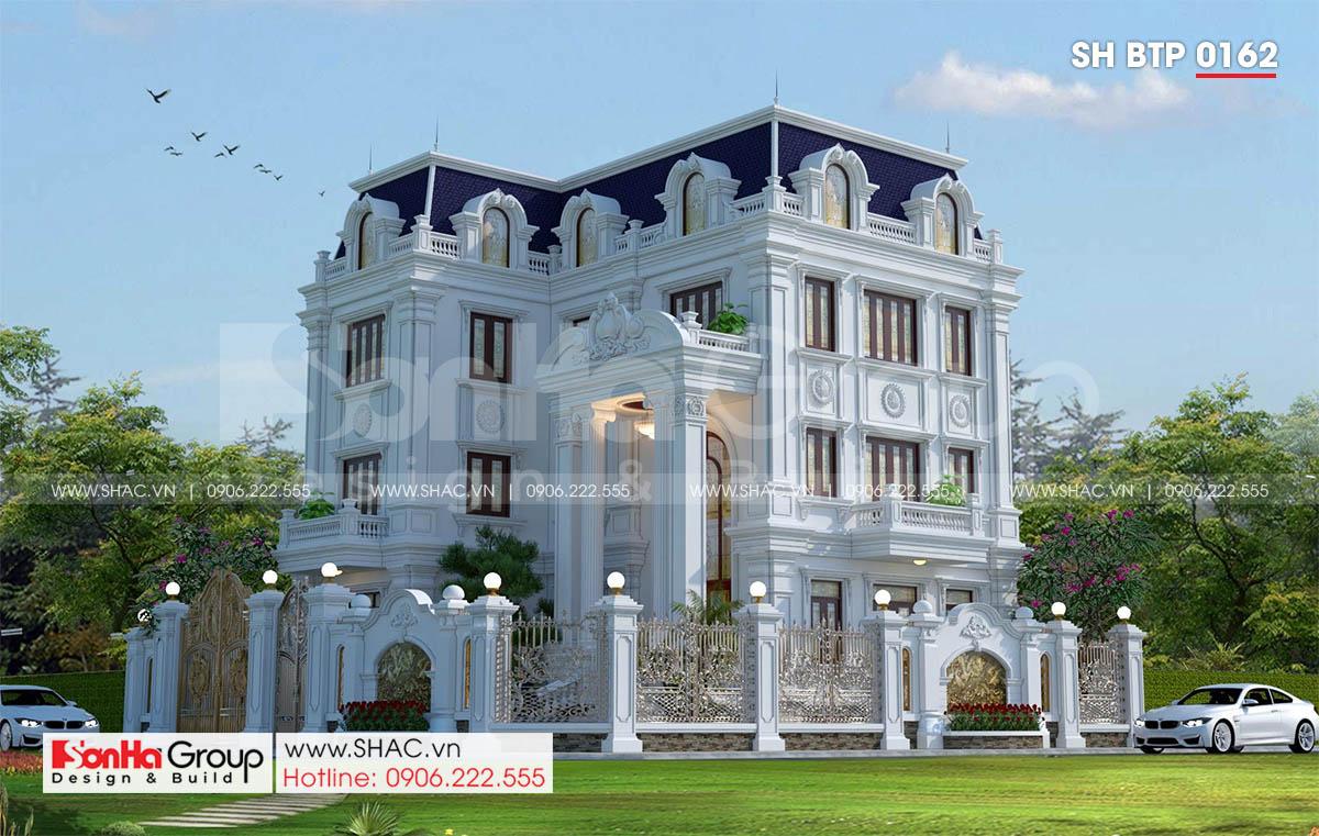 Kiến trúc biệt thự tân cổ điển đẹp tại Hà Nội