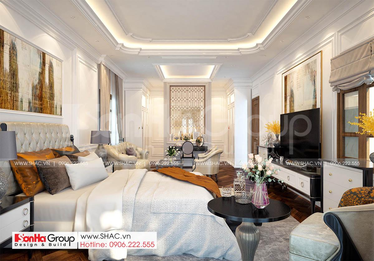 Trang trí nội thất phòng ngủ tinh tế và thanh lịch
