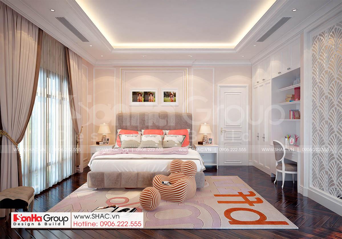 Thiết kế phòng ngủ 4 đẹp và tiện nghi