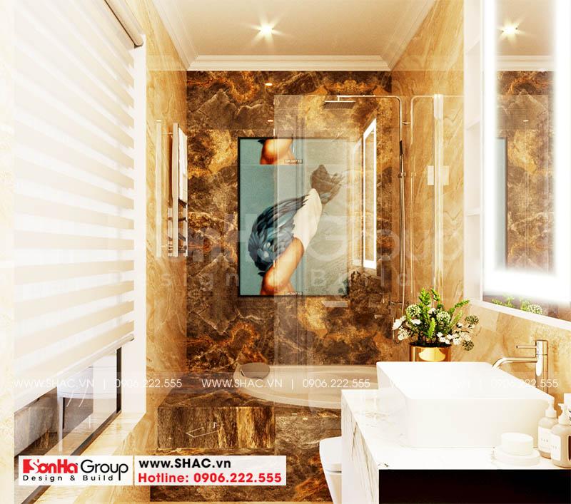 Ngôi nhà Hoàng Huy Mall tiện nghi với những phòng tắm mãn nhãn