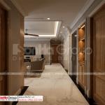 28 hành lang phòng sinh hoạt chung của biệt thự 4 tầng TP HCM SH BTP 0161