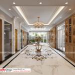 39 hành lang tầng 1 biệt thự tân cổ điển 4 tầng SH BTP 0161