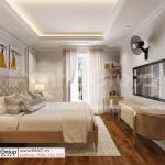 4 phòng ngủ lầu 1 tinh tế sang trọng trong biệt thự mặt tiền 17m tại TP Hồ Chí Minh SH BTP 0161