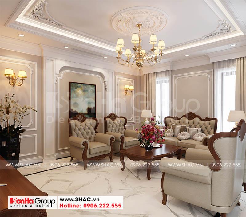 Mẫu thiết kế phòng khách nhà phố đẹp mắt đảm bảo thẩm mỹ và phong thủy