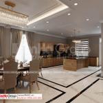 45 phòng bếp và nhà ăn của biệt thự tân cổ điển SH BTP 0161