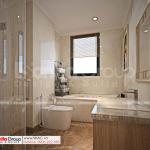 53 WC phòng ngủ tầng 3 biệt thự tân cổ điển 4 tầng SH BTP 0161