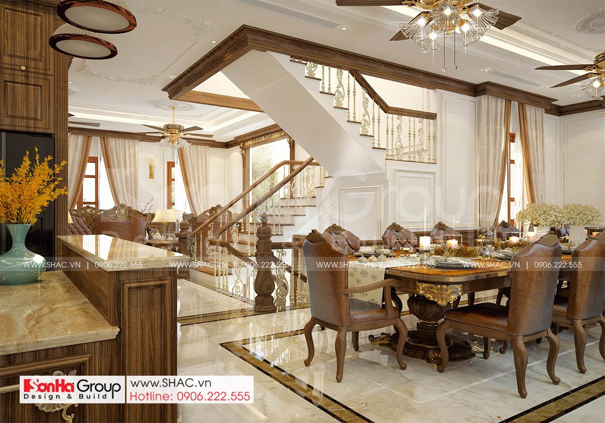 Mẫu nội thất phòng bếp đẹp và sang trọng