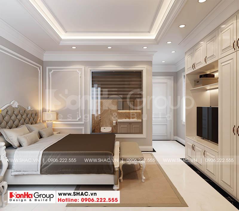 Thiết kế phòng ngủ master hội tụ tinh hoa phong cách nội thất tân cổ điển