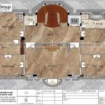 8 Bản vẽ tầng 4 biệt thự lâu đài hải dương sh btld 0047