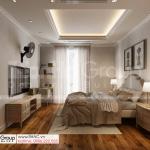 9 không gian ấm cúng và thanh lịch trong phòng ngủ phong cách tân cổ điển tại Sài Gòn SH BTP 0161