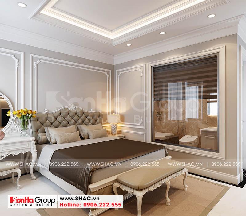 Không gian phòng ngủ master đẹp và sang trọng hạ gục mọi ánh nhìn