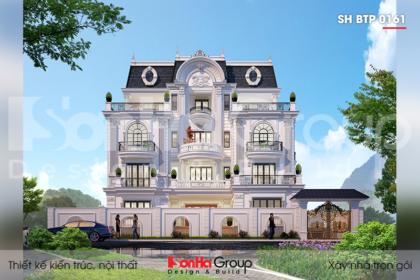 BIA Thiết kế biệt thự tân cổ điển tại Sài Gòn sh btp 0161