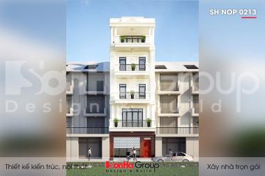 BIA Thiết kế nhà ống tân cổ điển tại Quảng Ninh sh nop 0213