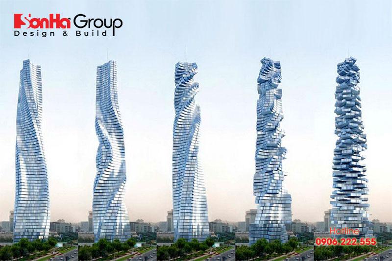 Tòa nhà chọc trời biết xoay Rotating Skyscrapers là dự án tương lai của Dubai