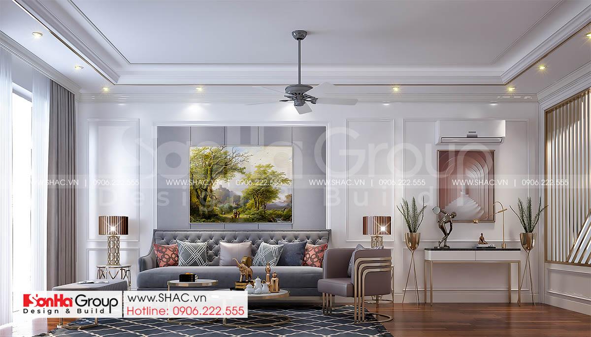 10 thiết kế phòng khách sang trọng và đẳng cấp trong nhà phố tân cổ điển SH NOP 0216