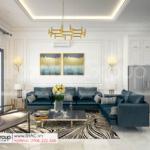 11 mẫu nội thất sang trọng và lịch thiệp trong phòng khách biệt thự hiện đại SH BTD 0082